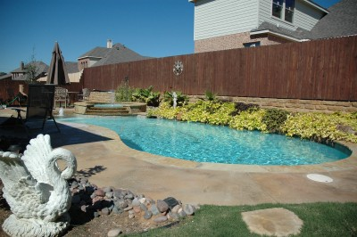 New Pool Construction In Keller, TX