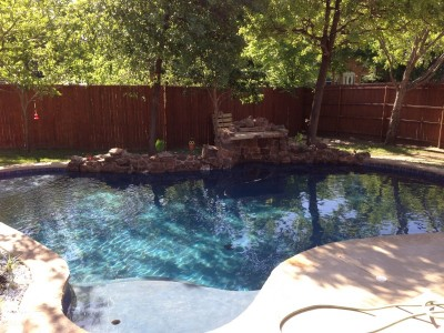 New Pool Construction In Bedford, TX
